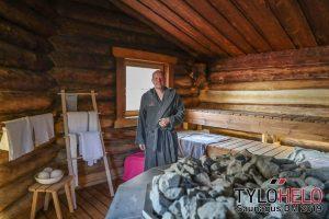 """Saunagus i """"Hobbit"""" sauna ved Zentropa @ Zentropa"""