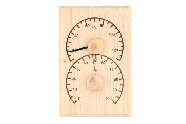 Sauna-termometer-hygrometer-fyrretrae