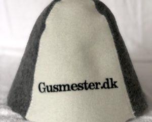 Saunahue med logo