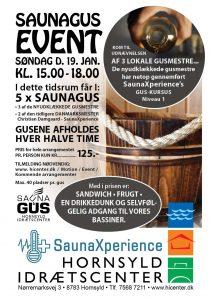 Saunagus-event i Hornsyld @ Hornsyld Idrætscenter