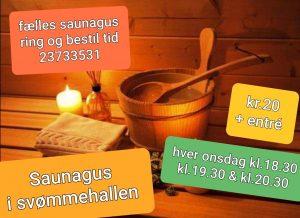 Saunagus Lyngby svømmehal @ Lyngby svømmehal