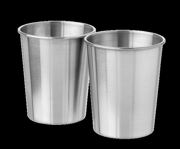 Rustfri stål kop