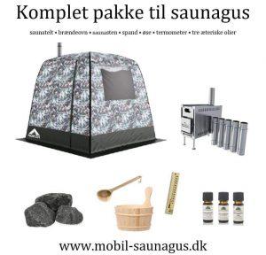 Telt sauna pakke
